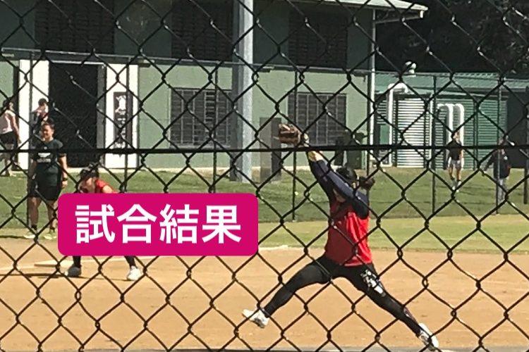オーストラリアウィンターリーグ試合結果〜決勝戦〜